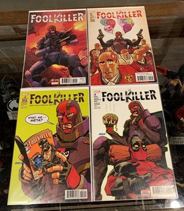 Picture of FOOLKILLER (2017) #1-4 MIXED PRINT SET NM