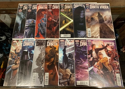 Picture of DARTH VADER (2015) #1-25 + ANNUAL 1 & 2 MIXED SET NM