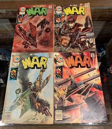 Picture of ALL NEW WAR (1975) #1-4 SET FN