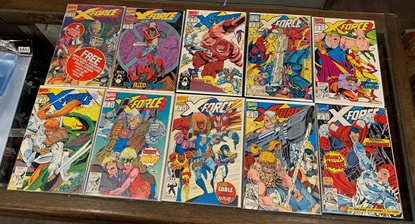 Picture of X-FORCE (1991) #1 2 3 4 5 6 7 8 9 10 1-10  SET VF/NM