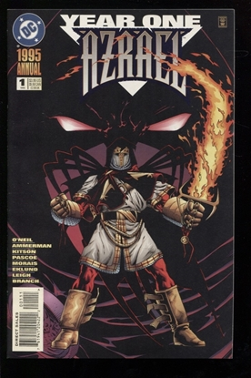 Picture of AZRAEL (1995) ANNUAL #1 9.4 NM