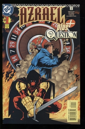Picture of AZRAEL PLUS QUESTION (1996) #1 9.0 VF/NM