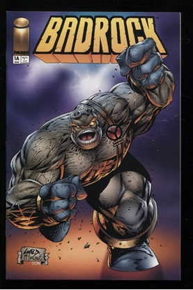 Picture of BADROCK (1995) #1 CVR A LIEFELD MCFARLANE 9.4 NM