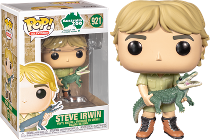 Picture of FUNKO POP! TELEVISION STEVE IRWIN CROCODILE HUNTER #921 NEW VINYL FIGURE