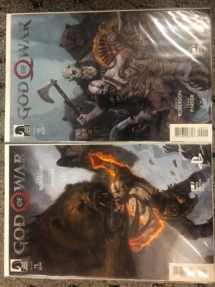 Picture of GOD OF WAR #1 & 2 DARK HORSE