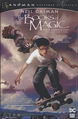 Picture of BOOKS OF MAGIC 30TH ANNIVERSARY DLX ED HC