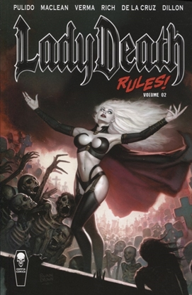 Picture of LADY DEATH RULES TP VOL 02 (MR)