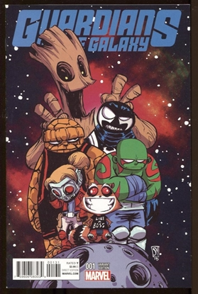 Picture of GUARDIANS OF THE GALAXY #1 SKOTTIE YOUNG VARIANT