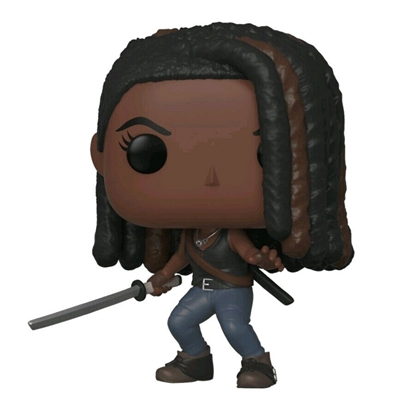 Picture of FUNKO POP TV THE WALKING DEAD AMC MICHONNE #888 NEW VINYL FIGURE
