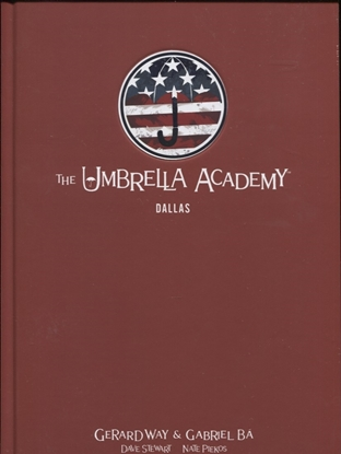 Picture of UMBRELLA ACADEMY LIBRARY EDITION HC VOL 02 DALLAS