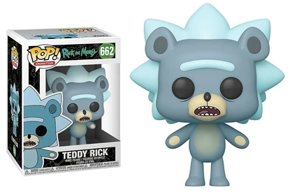 Picture of FUNKO POP ANIMATION RICK AND MORTY TEDDY RICK #662 NEW VINYL FIGURE