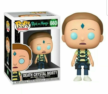 Picture of FUNKO POP ANIMATION RICK AND MORTY DEATH CRYSTAL MORTY #660 NEW VINYL FIGURE