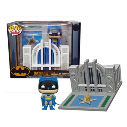 Picture of FUNKO POP! TOWN BATMAN W/ THE HALL OF JUSTICE #09 NEW VINYL FIGURE