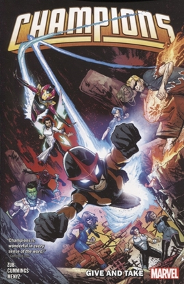 Picture of CHAMPIONS BY JIM ZUB TPB VOL 2 GIVE AND TAKE