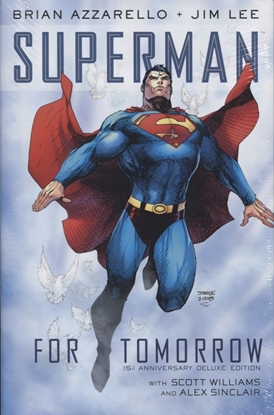 Picture of SUPERMAN FOR TOMORROW 15TH ANNIV DLX ED HC