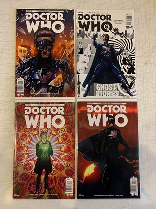 Picture of DOCTOR WHO GHOST STORIES (2017) #1-4 CVR A 1ST PRINT SET NM