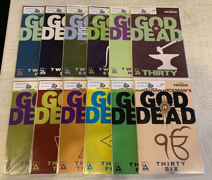 Picture of GOD IS DEAD (2013) #25-36 1ST PRINT SET  AVATAR COMICS VF/NM