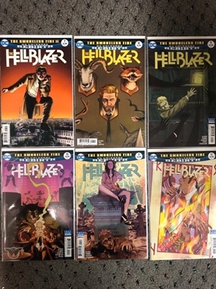 "Picture of HELLBLAZER #7-12 ""THE SMOKELESS FIRE"" SET"