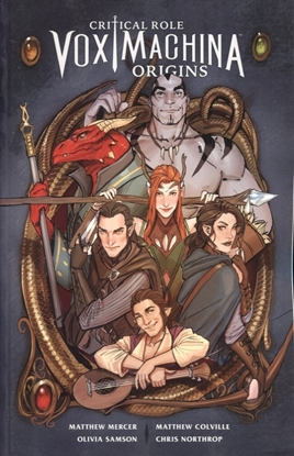 Picture of CRITICAL ROLE TP VOL 01 VOX MACHINA ORIGINS