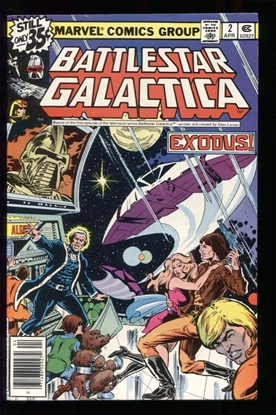 Picture of BATTLESTAR GALACTICA (1979) #2 9.2 NM-