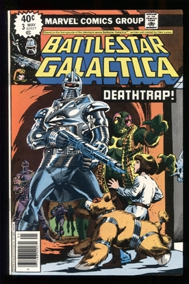 Picture of BATTLESTAR GALACTICA (1979) #3 9.4 NM