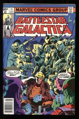 Picture of BATTLESTAR GALACTICA (1979) #11 9.4 NM