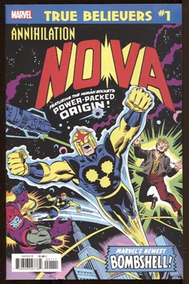 Picture of TRUE BELIEVERS ANNIHILATION NOVA #1
