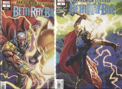 Picture of BETA RAY BILL ANNIHILATION SCOURGE #1 COVER A & B SET