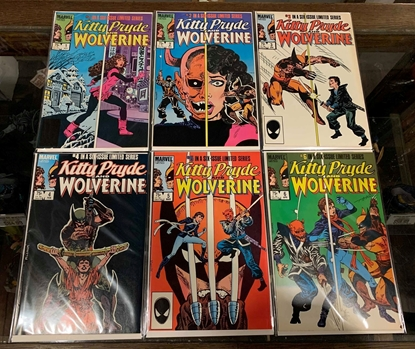 Picture of KITTY PRYDE AND WOLVERINE (1984) #1-6 SET VF/NM