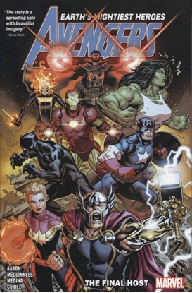 Picture of AVENGERS BY JASON AARON VOLS 1 2 3 4 & 5 TPB SET
