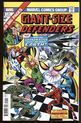Picture of GIANT-SIZE DEFENDERS #3 FACSIMILE EDITION