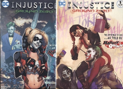 Picture of INJUSTICE GROUND ZERO #1 COVER A & B SET