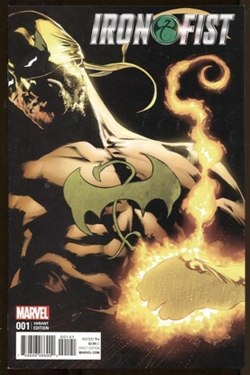 Picture of IRON FIST #1 (2017) PERKINS VARIANT
