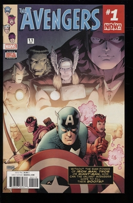Picture of AVENGERS (2016) #1.1 2ND PRINT