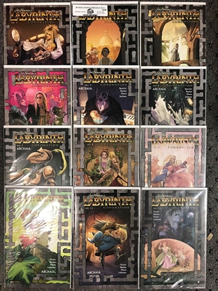 Picture of JIM HENSON LABYRINTH CORONATION #1-12 MAIN COVER SET