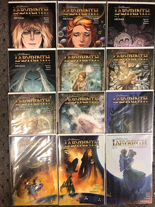 Picture of JIM HENSON LABYRINTH CORONATION #1-12 COVER B SUB VARIANTS