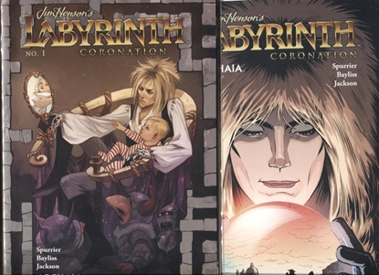 Picture of JIM HENSON LABYRINTH CORONATION #1 COVER A & B SET
