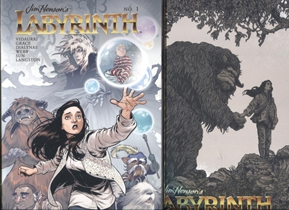 Picture of JIM HENSON LABYRINTH UNDER THE SPELL #1 COVER A & B SET