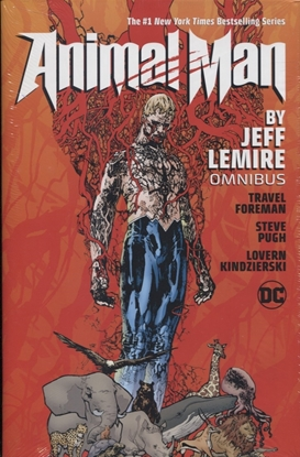 Picture of ANIMAL MAN BY JEFF LEMIRE OMNIBUS HC