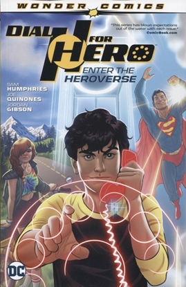 Picture of DIAL H FOR HERO TPB VOL 1 ENTER THE HEROVERSE
