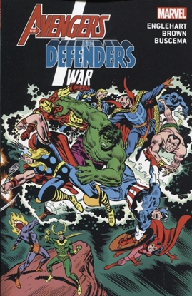 Picture of AVENGERS DEFENDERS WAR TP NEW PRINTING