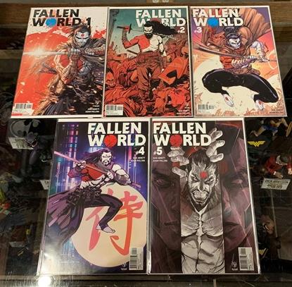 Picture of FALLEN WORLD (2019) #1-5 CVR A SET NM