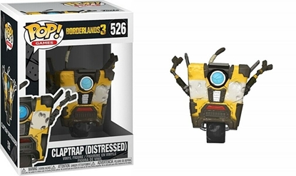 Picture of FUNKO POP GAMES BORDERLANDS 3 CLAPTRAP (DISTRESSED)#526 NEW VINYL FIGURE
