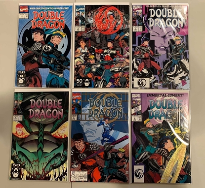 Picture of DOUBLE DRAGON (1991) #1-6 SET MINI SERIES VF/NM