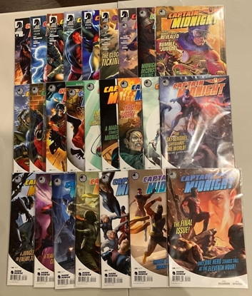 Picture of CAPTAIN MIDNIGHT (2013) #0 1-24 SET VF/NM