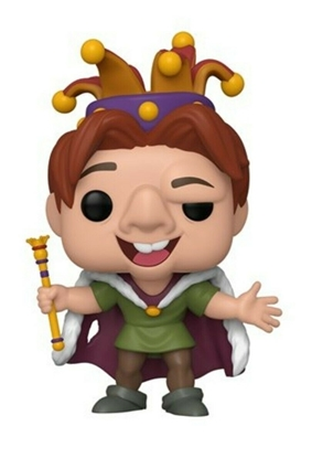 Picture of FUNKO POP DISNEY THE HUNCHBACK OF NOTRE DAME QUASIMODO FOOL #634 NEW VINYL FIGURE