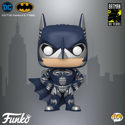 Picture of FUNKO POP DC HEROES BATMAN 80 YRS BATMAN 1997 #314 NEW VINYL FIGURE