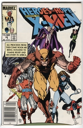 Picture of HEROES FOR HOPE X-MEN (1985) #1 8 VF WP (1440)