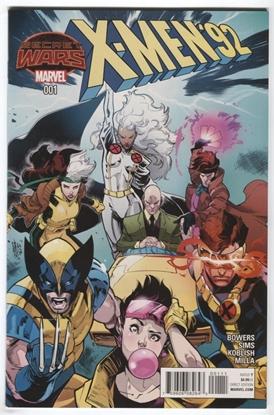 Picture of X-MEN 92 #1 BOWERS, SIMS, KOBLISH, MILLA SECRET WARS 2015