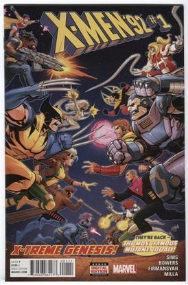 Picture of X-MEN 92 (2015) #1 SIMS, BOWERS, FIRMANSYAH, MILLA X-TREME GENESIS SECRET WARS